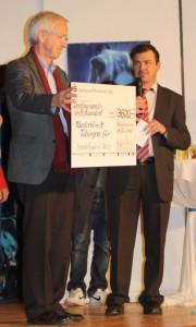 Bernhard Vogt und Hans Reyle in ihrem Element.
