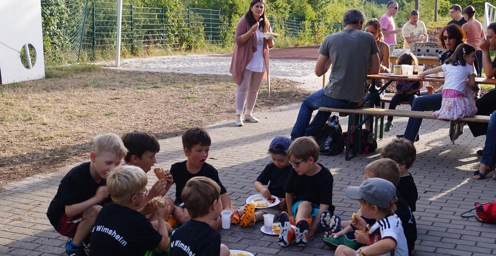 Abschlußfest F-Jugend 2014